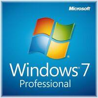 Microsoft Windows 7 Professional 32/64 Bit - MS Win 7 Pro - SOFORT per E-Mail