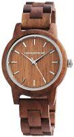 Leonardo Verrelli Damenuhr Braun Holz Wood Analog Quarz Armbanduhr X2800025002