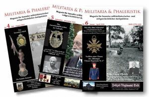 Militaria & Phaleristik - Ausgabe 4+5+6 - Vorteilspreis