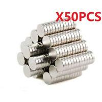 50pcs Neodymium Disc Super Strong Rare Earth N50 3X3mm Small Fridge Magnets New