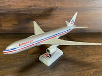 American Airlines Boeing 777-200 Desk Display Model ~ AA Airplane Aircraft