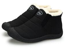 Women Sneaker Snow Boots Winter Anti-Slip Ankle Booties Waterproof  Warm Fur Lin