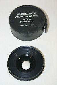 BOLEX Aspheron 5,5mm for Switar 10mm ultra super wide angle f=5.5mm, gebraucht