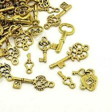 Cinta Métrica Charm//Colgante Oro Antiguo Tibetano 27mm a granel paquetes de 3 X 10 encantos