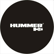Spare Wheel Tire Cover Hummer H3 Black Tire Cover