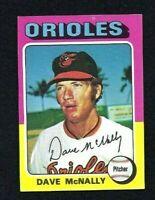 NMT 1975 Topps #26 Dave McNally.