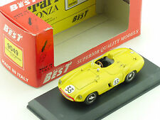 Best 9046 Ferrari 750 Monza SPA 55 #33 Scaglietti 1:43 Model OVP 1603-10-13