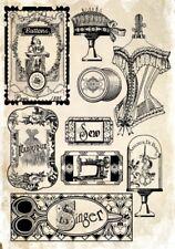 Decoupage-Serviettentechnik-Softpapier-Vintage-Nostalgie-Retro-12006