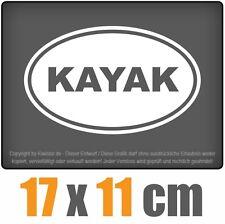 Kayak 17 x 11 cm JDM Sticker Voiture Automatique Blanc Autocollant pour vitres