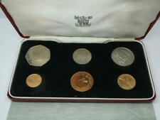 More details for royal mint boxed 1971 guernsey proof six coin sealed set,unc