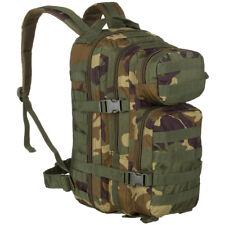 Army Assault Pack MOLLE Backpack Military Hiking Rucksack 20L US Woodland Camo
