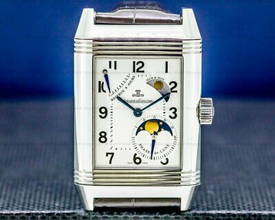 Jaeger LeCoultre Reverso Grande Sun Moon SS BOX + PAPERS