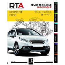 Livre Revue technique Peugeot 2008 depuis 2013 - RTA 809