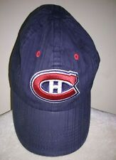 Official NHL Montreal Canadiens Hockey Team Hat Adjustable Cap