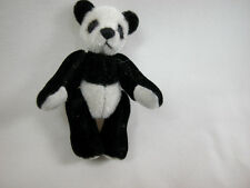 "World Of Miniature Bears Dollhouse Miniature 2.75"" Panda Bear #370"