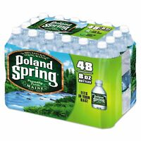 Nestle Waters 1098091 Natural Spring Water, 8 oz Bottle, 48 CT