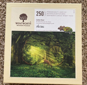 Wentworth Wooden Puzzle LITTLE DEER by Teo Tarras 250 Pieces