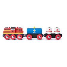 Holzspielzeug Zug Speedy Holzeisenbahn Holz Bahn Bimmelbahn Zug Spielzeug für Kinder NEU
