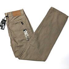 Buffalo David Bitton Driven Straight Leg Chino Boys Pants BUSYB2202 Size 16