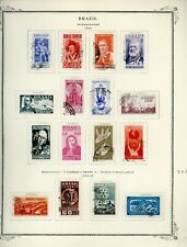 BRAZIL Scott Specialty Album Page Lot #40 - SEE SCAN - $$$