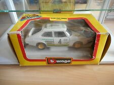 Bburago Burago Saab 900 Turbo in White on 1:24 in Box