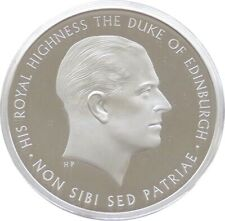 More details for 2017 royal mint prince philip life of service £5 five pound silver proof coin