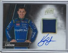 2018 PANINI PRIME KYLE LARSON CREDIT ONE BANK RU FS AUTO CARD#AM-KL /25