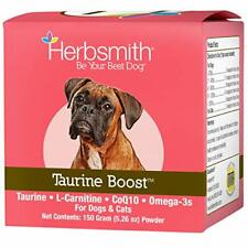 New listing Herbsmith Taurine Boost - Cardiac and Heart Support for Dogs & Cats150g powder
