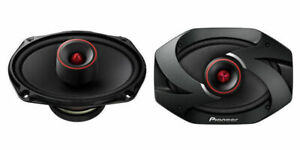 "Pioneer TS-6900PRO 600 W Pro Series 6 x 9 6x9"" Horn Tweeters Full Range Speakers"