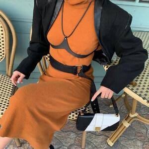 Womens Look Bra Push Up Cupless Top Lingerie Halter Neck Vest Lingerie
