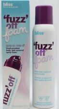 Bliss 💘 Fuzz Off  Foam Body Hair Removal  5.5 oz Spray On Rinse Off Fresh Scent