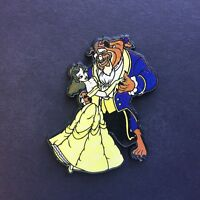 UK Plastic Beauty and the Beast Belle and Beast dancing Disney Pin 8973