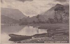 Llyn Padarn, LLANBERIS, Caernarvonshire