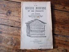 APICULTURE LE RUCHER MODERNE ET SES PRODUITS LEON GERARDIN 1942 ABEILLES RUCHES