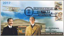 17-423, 2017, Wright Brothers, Kitty Hawk NC, Pictorial, Event cover, flight