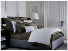 Nwt $145 Ralph Lauren Euro Pillow Sham White w Tweed Green Langdon Cotton 624Tc