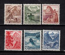 Schweiz Freimarken 500 - 505  Satz  postfrisch, siehe Bild