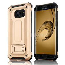 For Samsung Galaxy S7 edge High Impact Rugged Shockproof Kick Stand Case Cover