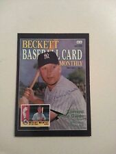 Mickey Mantle 2014 National Beckett Cover Promo Card Limited to 500