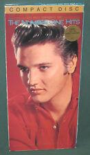 Elvis Presley THE NUMBER ONE HITS JAPAN LongBox CD 6382-2-R US Release 1987