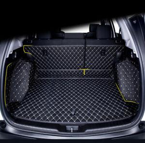 For LEXUS LX450D 2019 Car 5 Seat Rear Trunk Cargo Mat Boot Mat Carpet Dog Pet