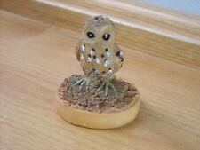 OWL - TETLEY TEA WILDLIFE FIGURINE