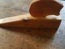 Victorian pine hedgehog   -- door stop --- --
