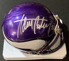 Adrian Peterson Signed Minnesota Vikings Mini Helmet Autographed AAA Authentic
