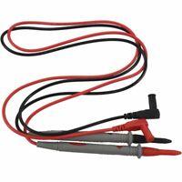 1 Paire Cordon Testeur Cable Pour Voltmetre Ohmmetre Multimetre Amperemetre F8U5