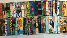"""Charm Squares Novelty Prints Boys Girls 50 Different x 4"""" Quilt Fabric Patchwork"""