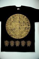 Calendario Maya Camiseta Pagano Wicca Gótico