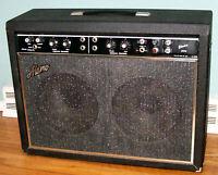 ALAMO ELECTRA TWIN 10 MODEL 2570 TUBE HYBRID VINTAGE 1970's GUITAR AMP AMPLIFIER