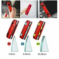 Magnetic Window Cleaner for Single Double Glazed Glass Wiper Brush Glider Tool