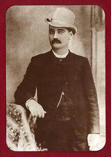 BAT MASTERSON Postcard Old West Collectors Series #25 Near Mint